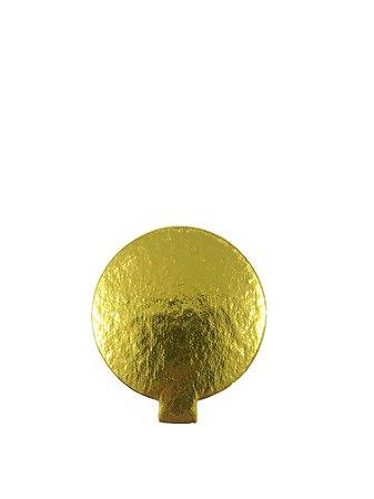 Porta Docinho Dourado - Tam. 80 mm - c/ 10 unid. - R$ 0,54 Und.