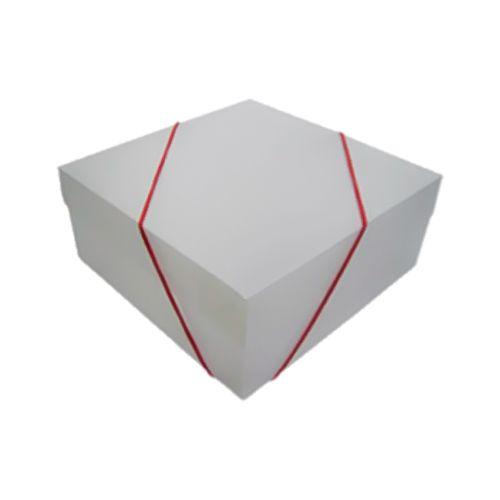 Monte sua Caixa Presente Sensual - Branca Transparente