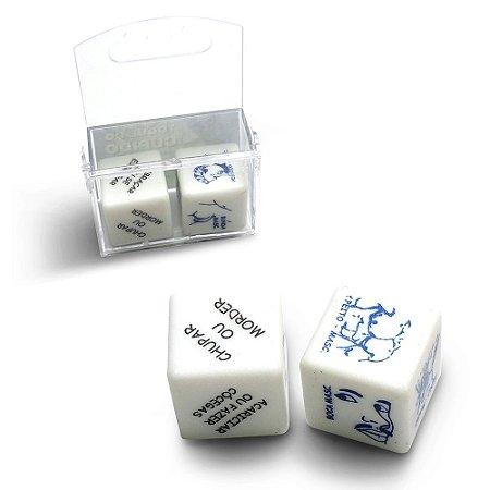 Jogo de Dados Erótico Gay Duplo Diversão ao Cubo