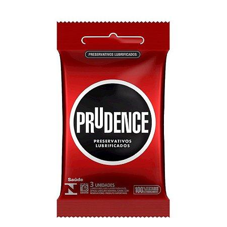 Preservativo Lubrificado 3un Prudence