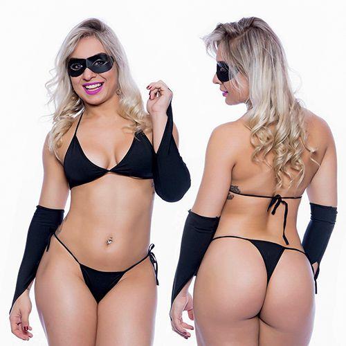 Fantasia Tiazinha Sexy Feminina Mil Toques