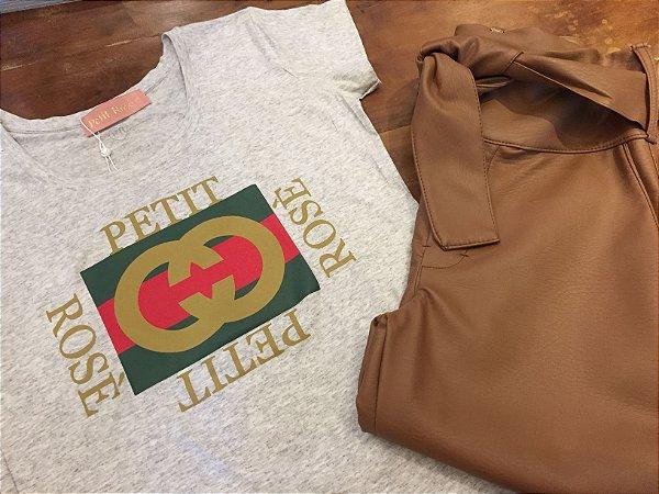 T shirt mescla Gucci inspired