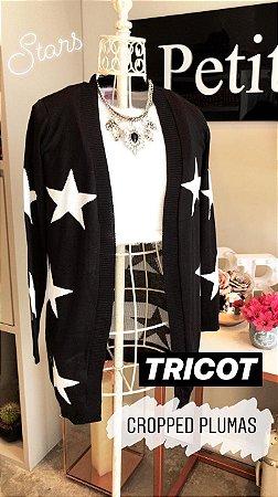 Cardigan tricot estrelas