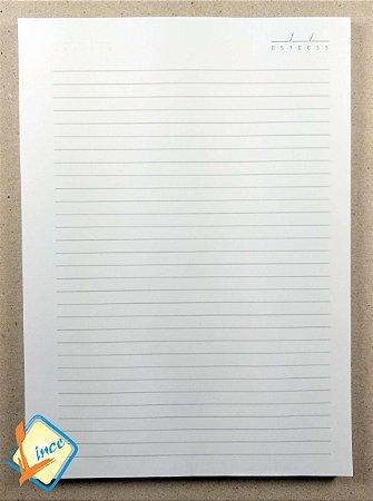 Miolo de Caderno 18 x 25 cm