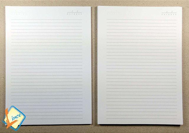 10 Miolos de Caderno 18 x 25 cm
