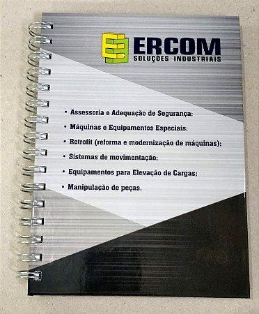 50 Cadernos Personalizado Ercom