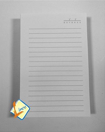100 Miolos de Caderno 10 x 15 cm