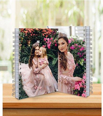 Caderno 18x25cm Personalizado - Laminação Brilho