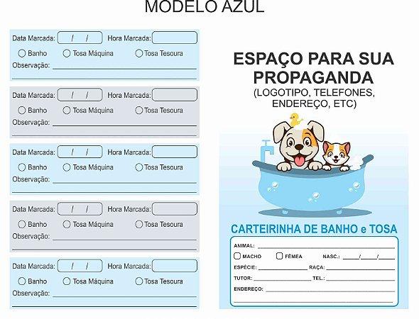 Carteirinhas Banho & Tosa + Banho & Tosa Pacote Mensal