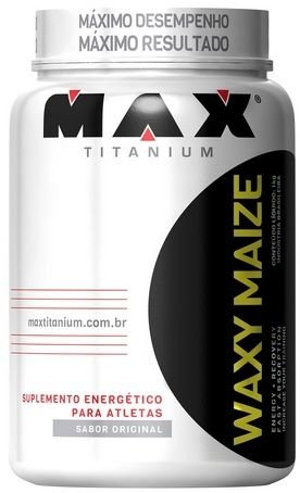 Waxy Maize Natural 1kg - Max Titanium
