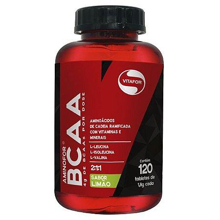 Aminofor BCAA 120 Tabletes - Vitafor