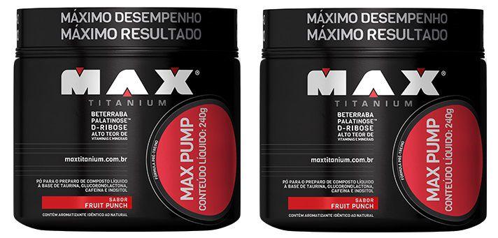 COMBO 2X MAX PUMP 240g - MAX TITANIUM