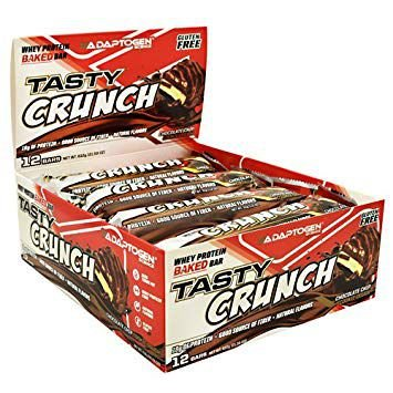 TASTY CRUNCH PROTEIN BAR (CX C/ 12 UNIDADES) - ADAPTOGEN SCIENCE