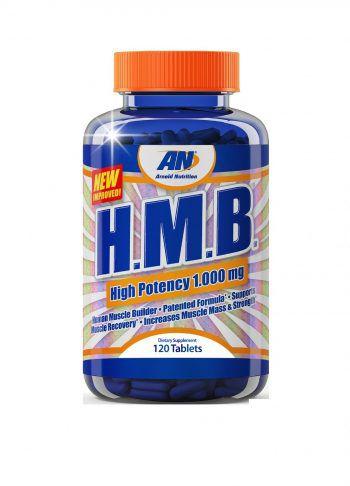 HMB 1000mg (120 Tablets) - Arnold Nutrition