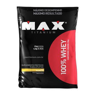 100% Whey 2kg - Max Titanium