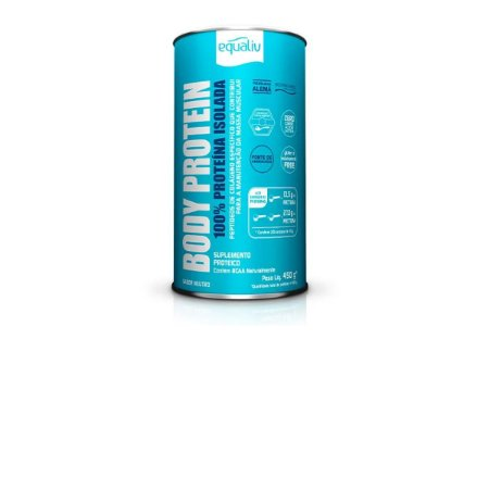 Body Protein Equaliv 450g - 100% Proteína Isolada - Neutro