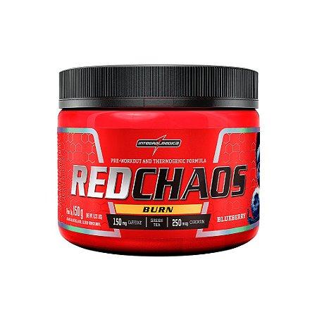 Pré Treino e Termogênico Red Chaos Burn 150g - Integral Médica