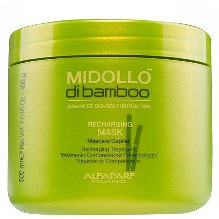 Máscara Alfaparf Midollo Bamboo Recharging 500 Ml