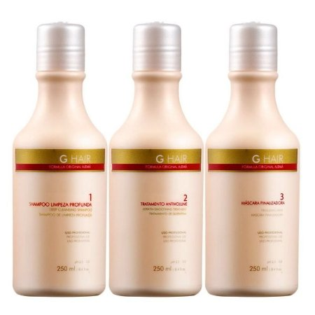 Escova Progressiva Inoar G-hair 3 X 250 Ml