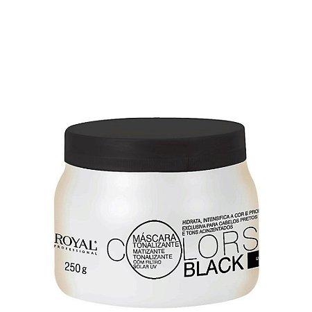 Máscara Tonalizante Royal Professional Colors Black 250gr