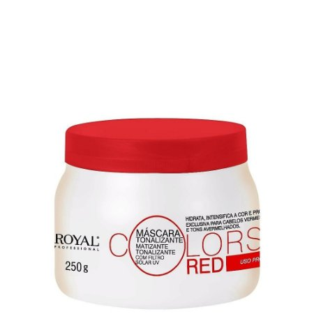 Máscara Tonalizante Royal Professional Colors Red 250gr