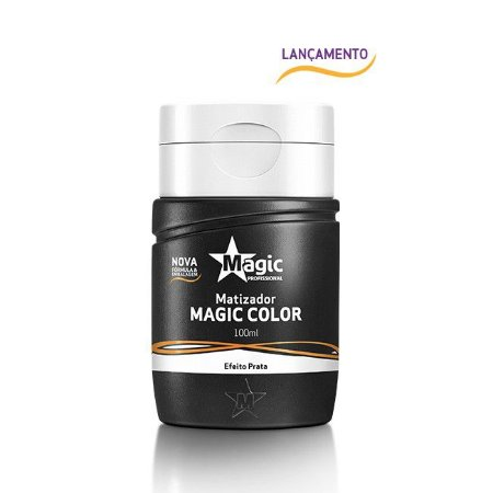 Magic Color Mini Matizador Tradicional - Efeito Prata 100ml