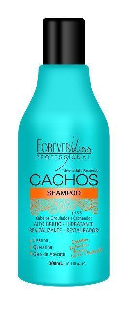 Cachos Forever Liss Shampoo Hidratante 300ml