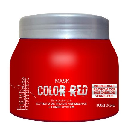 Máscara Tonalizante Color Red 300g - Forever Liss