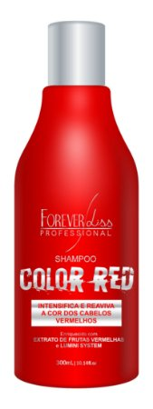 Shampoo Color Red 300ml - Forever Liss