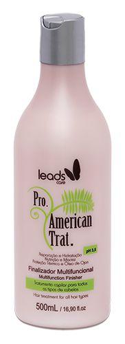 Leads Care American Tratamento Finalizador Multifuncional - 500ml