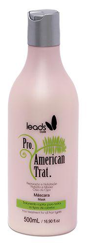 Leads Care American Tratamento Máscara - 500ml