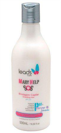 Leads Mary Help S.O.S Blindagem Capilar - 500ml