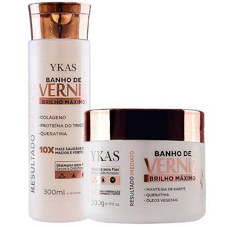Ykas Banho de Verniz Kit Tratamento Banho de Verniz