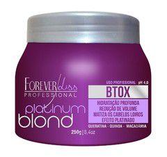 Forever Liss Redutor de Volume Platinum Blond Matizador Intensive 250g