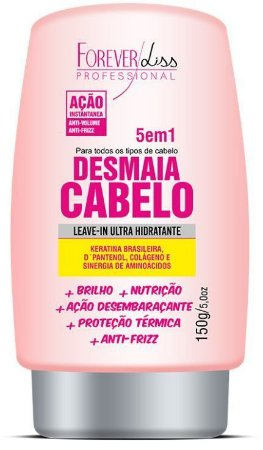 Forever Liss Desmaia Cabelo Leave-in 150g 5 em 1 150g