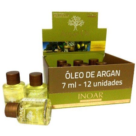 Inoar Argan Oil 7ml Display com 12 unidades