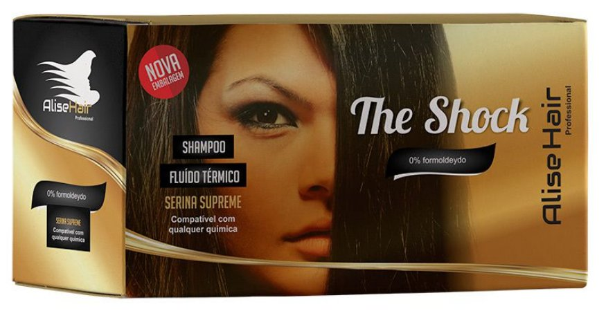 Alise Hair The Shock Progressiva 2x30ml Caixa C/30 Sachês