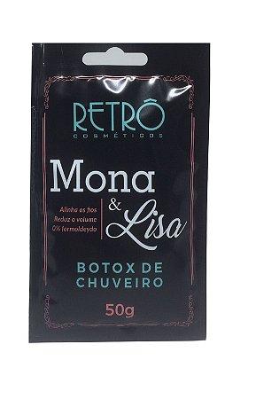 Retrô Cosméticos - Botox no Chuveiro 50g Mona & Lisa - Display C/20un