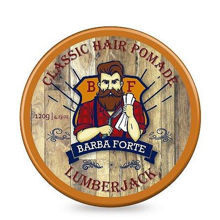 Pomada Modeladora Lumberjack Classic Hair Pomade Barba Forte 120g