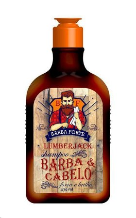 Shampoo Lumberjack Barba Forte 170ml