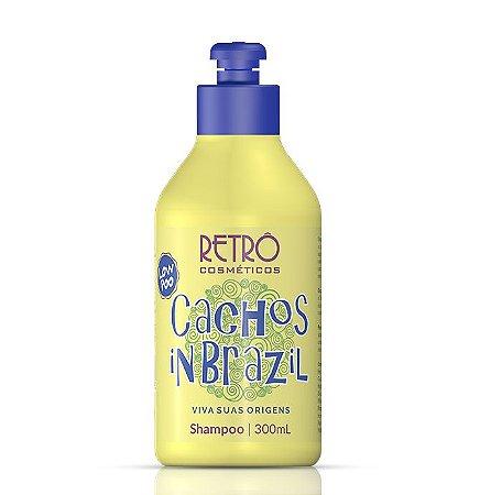 Cachos Shampoo In Brazil Low Poo Retrô Cosméticos 300ml