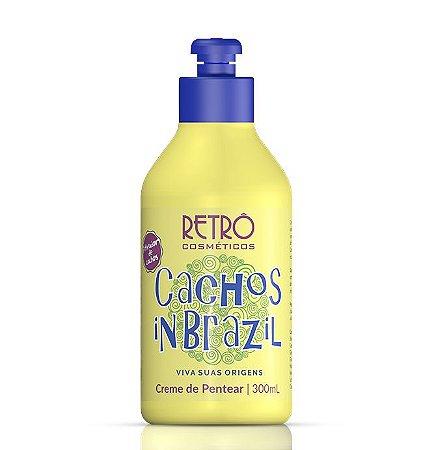 Cachos Creme de Pentear Low Poo In Brazil Retrô Cosméticos 300ml