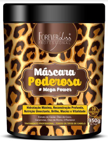 Máscara Poderosa Mega Power Forever Liss 950g
