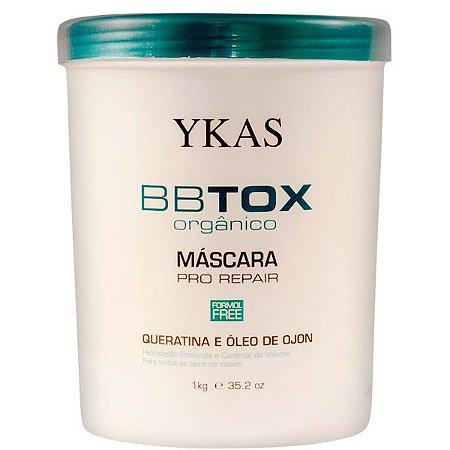 Botox Orgânico Ykas  Máscara Tratamento Pro-Repair 1Kg