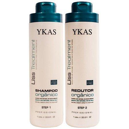 Ykas Orgânico Escova Progressiva Free Formol ( 2 x 1 litro)