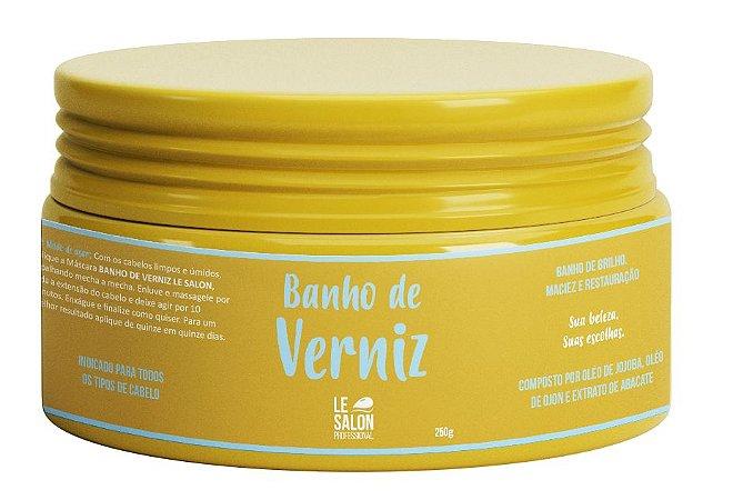 Banho De Verniz Máscara Le Salon Pro Brilho Hidratante 250g