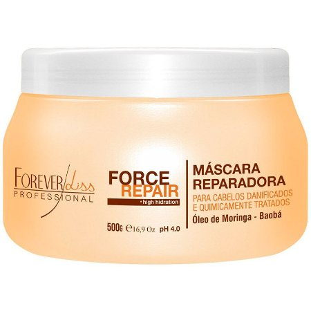 Máscara Forever Liss Force Repair 500g