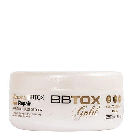 Botox Capilar Ykas Pro Repair Máscara Tratamento 250g