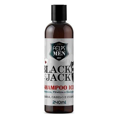 Shampoo Felps Men Ice Black Jack 240ml