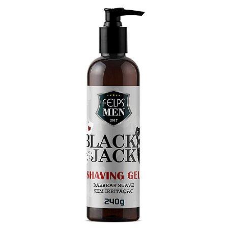 Gel para Barbear Felps Men Black Jack Shaving 240g